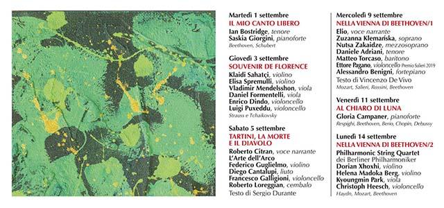 Incontri Asolani: da Bostridge al Philharmonic String Quartet passando per la Campaner