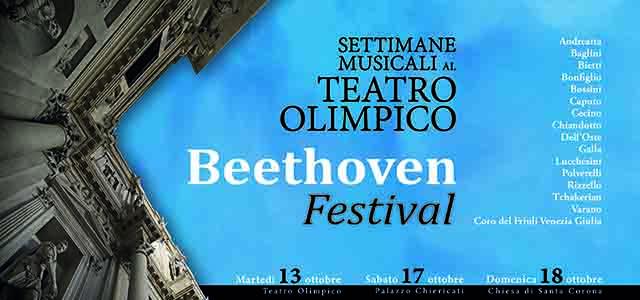 Le Settimane Musicali al Teatro Olimpico di Vicenza omaggiano Beethoven