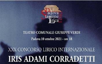 XXX Concorso Lirico Internazionale Iris Adami Corradetti